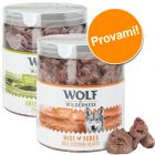 Set prova misto 2 Snack premium liofilizzati Wolf of Wilderness