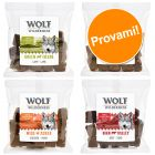 Set prova misto! Wolf of Wilderness Snack - Bocconi 4 x 180 g