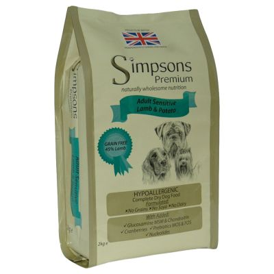Simpsons Premium Sensitive Adult Agnello & Patate