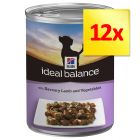 Sparpack: Hill's Canine Ideal Balance Adult 12 x 363 g