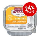 Sparpack: 24 x 150 g Animonda Integra Protect i portionsform