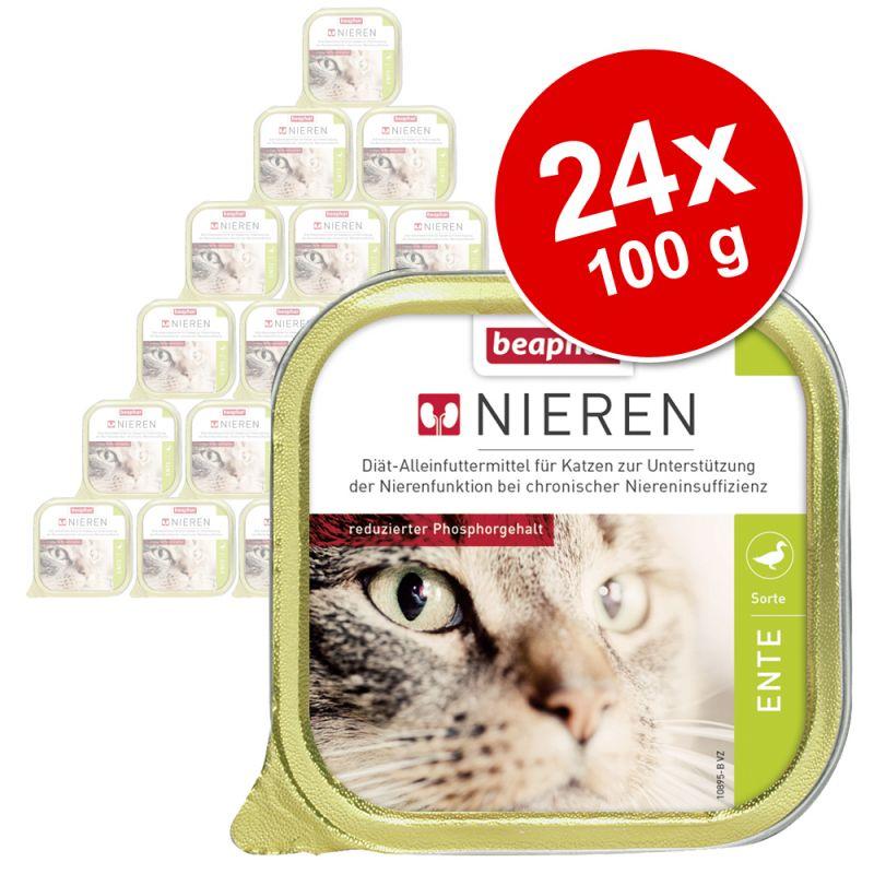 beaphar Spezialfutter: Sparpaket beaphar Nieren-Diät 24 x 100 g