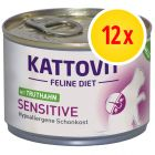Sparpaket Kattovit Sensitive 12 x 175 g