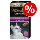 Sparpaket Miamor Cat Snack 24 x 15 g