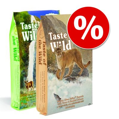 Taste of the Wild para gatos - Pack mixto