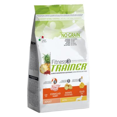 Trainer Fitness 3 Adult Mini No Grain Coniglio & Patate