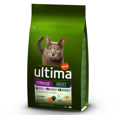 Ultima Adult para gatos esterilizados - Pack mixto