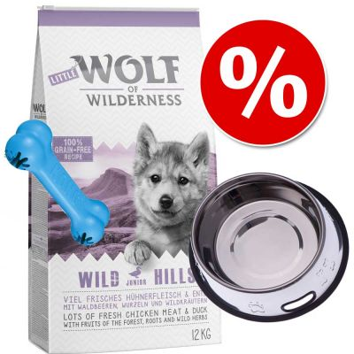 Welcome Kit Puppy & Junior Wolf of Wilderness