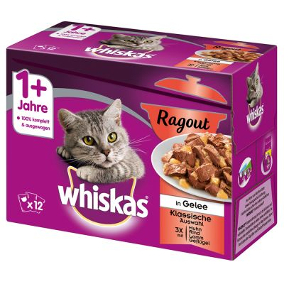 Whiskas 1+ Adult buste 48 x 100 g
