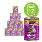 Whiskas 1+ Cans 12 x 400g