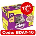 Whiskas 7+ Creamy Soup Poultry Selection
