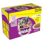 Whiskas Junior Maaltijdzakjes 12 x 100 g