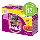 Whiskas Junior 2-12 meses saquetas 12 x 100 g