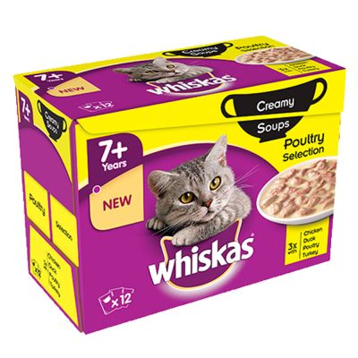 Whiskas 7+ Senior buste 48 x 85 g /100 g