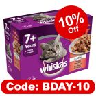 Whiskas 7+ Senior Casserole Meaty Selection in Jelly