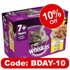 Whiskas 7+ Senior Casserole Poultry Selection in Jelly