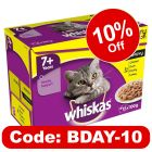 Whiskas 7+ Senior Pouches in Gravy