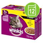 Whiskas 7+ Senior saquetas 12 x 100 g