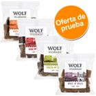 Wolf of Wilderness bocaditos de carne - Pack de prueba 4 x 180 g