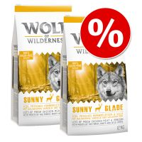 Wolf of Wilderness Economy Pack 2 x 12kg