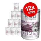 Wolf of Wilderness Saver Pack 12 x 400g