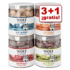 Wolf of Wilderness snacks liofilizados premium en oferta: 3 + 1 ¡gratis!