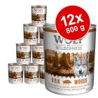 Wolf of Wilderness 12 x 800 g pour chien