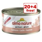 24 x 70g Almo Nature Legend - 20 + 4 Free!*
