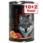 12 x 400g Alpha Spirit Wet Dog Food - 10 + 2 Free!*