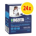 24 x 370 g Bozita Chunks in Jelly