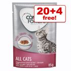 24 x 85g Concept for Life Wet Cat Food – 20 + 4 Free!*
