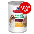 6 x 363g Perfect Weight Hill's Science Plan Canine Adult - 10% off!*