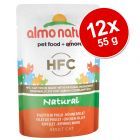12 x 55 g Sparpaket Almo Nature HFC Pouch