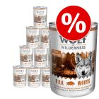 18 x 400g Wolf of Wilderness Adult Wet Dog Food - Special Price!*