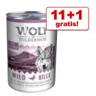 11 + 1 zdarma! 12 x 400 g  Wolf of Wilderness