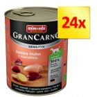Zestaw Animonda GranCarno Sensitive, 24 x 800 g